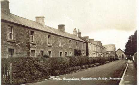 Brays Down Lane in the 1890s
